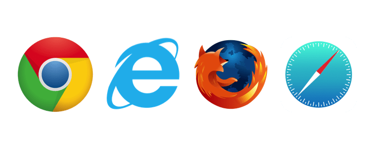 Browsers OurMeeting logos
