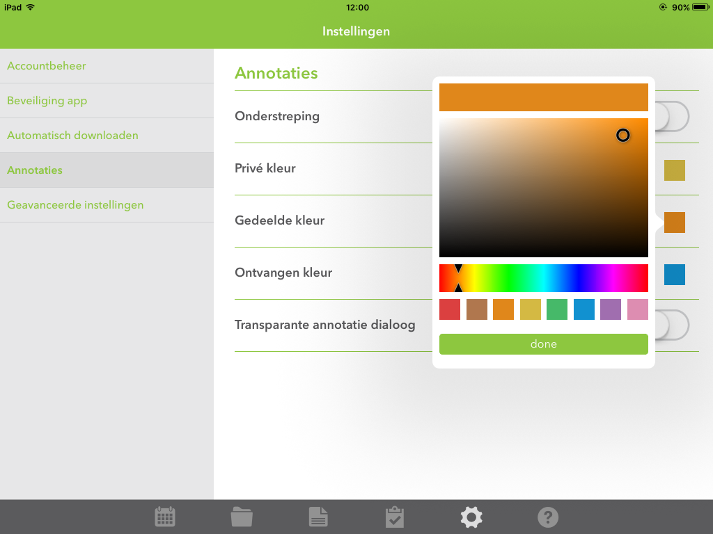 Kleurrijke update van OurMeeting voor iOS