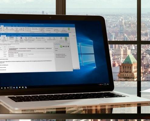 Outlook koppeling met de vergaderoplossing OurMeeting