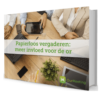 Cover whitepaper OR | OurMeeting papierloos vergaderen