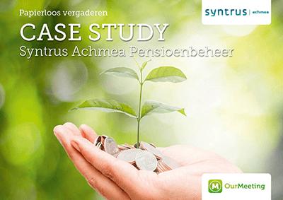 Case Study Syntrus Achmea OurMeeting papierloos vergaderen