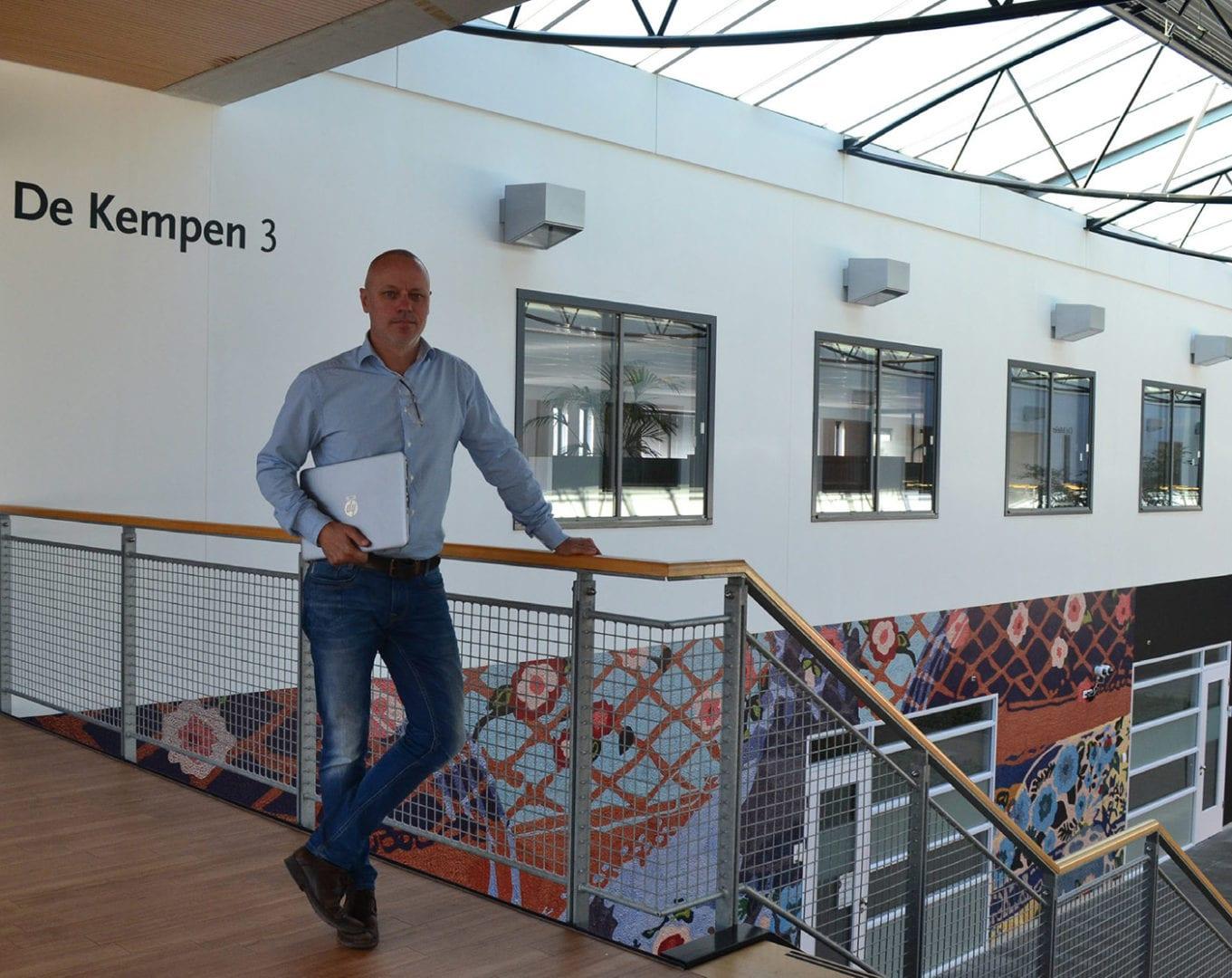 Frans Van Alebeek ICT Manager Novadic Kentron